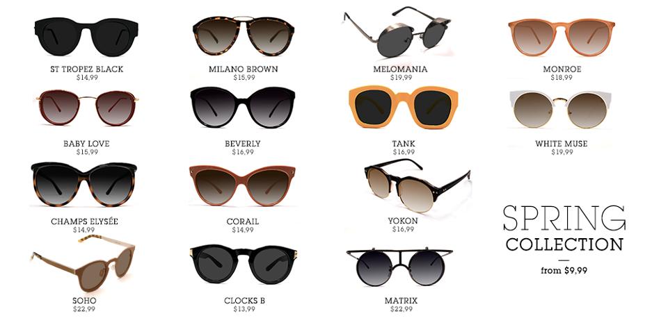Il Mondo di Cinzia: Polette,occhiali da vista e da sole