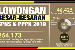 Pemerintah Buka 254.173 Lowongan CPNS dan PPPK di Tahun 2019, Berikut Rinciannya