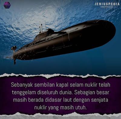 9 Kapal Selam Tenggelam di Dunia