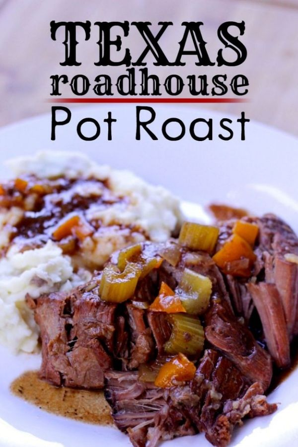 Texas Roadhouse Pot Roast - SLOW COOKER