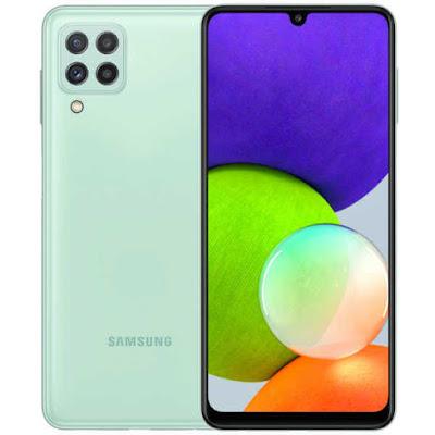 How to take screenshot on Samsung Galaxy A22