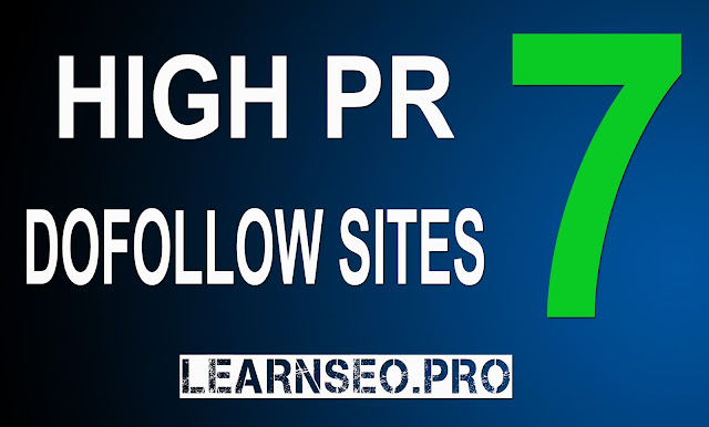 HIGHPR 7 Directory Submission sites