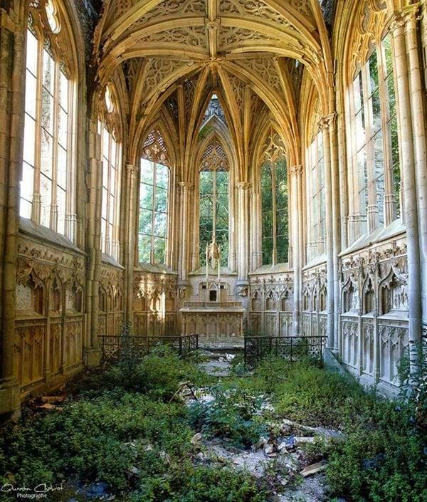 Abandoned Church in France.