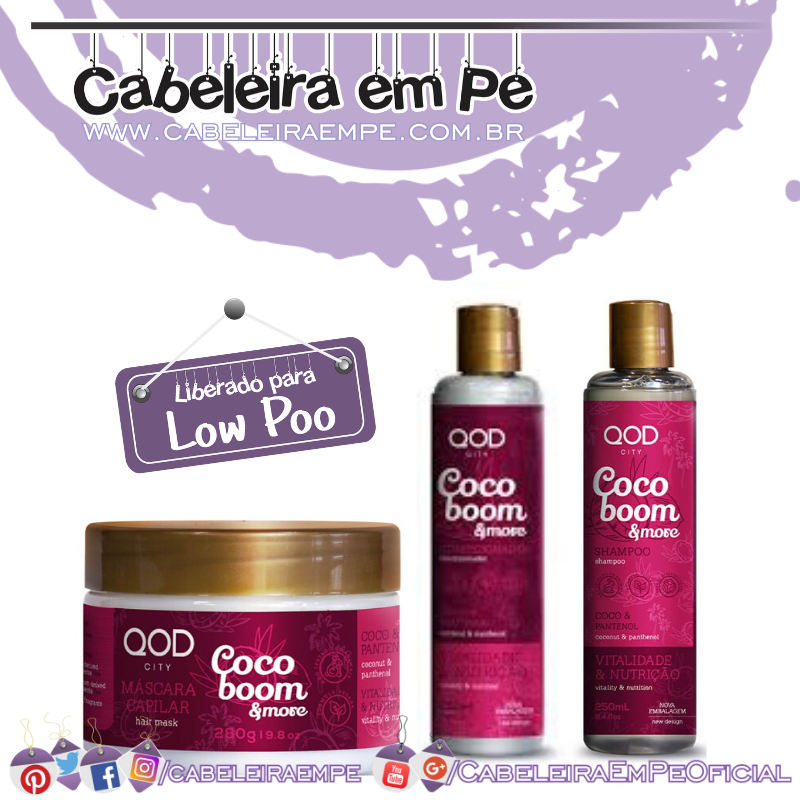 Shampoo, Condicionador e Máscara Coco Boom & More - QOD City (Low Poo).png