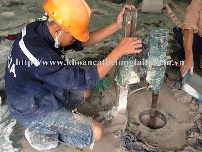 Khoan cắt bê tông tại huyện Vĩnh Lợi