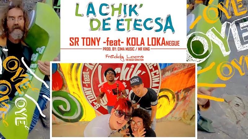 Sr Tony - Kola Loka Negüe - ¨La Chik´ de ETECSA¨ - Videoclip - Dirección: Freddy Loons. Portal Del Vídeo Clip Cubano