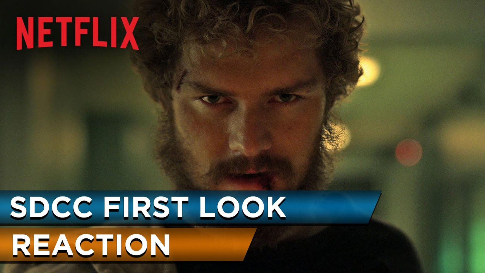 reaction to trailer for Marvel's Iron Fist