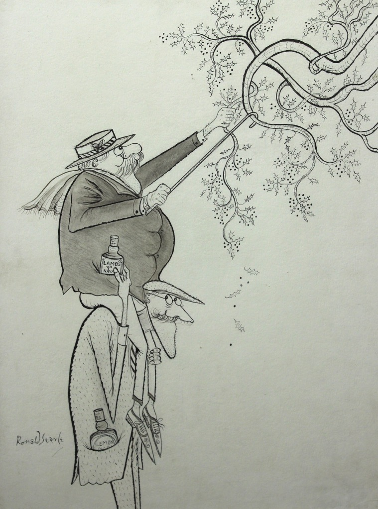 fake drawings ronald searle tribute hommages fakes pt3