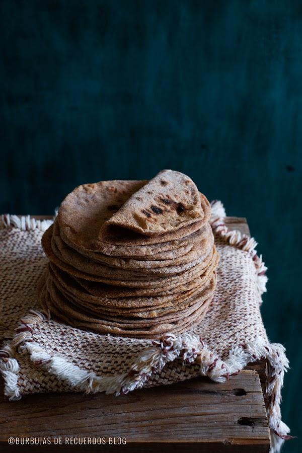 Pan Roti 100% de trigo integral