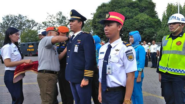 PT Kereta Api Indonesia Divre III Upacara Gelar Pasukan