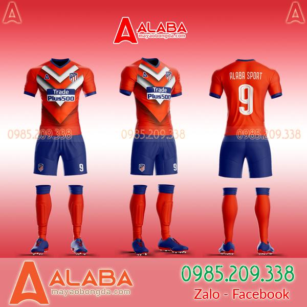 Áo CLB Atletico may theo yêu cầu mã ALB AT10 độc lạ