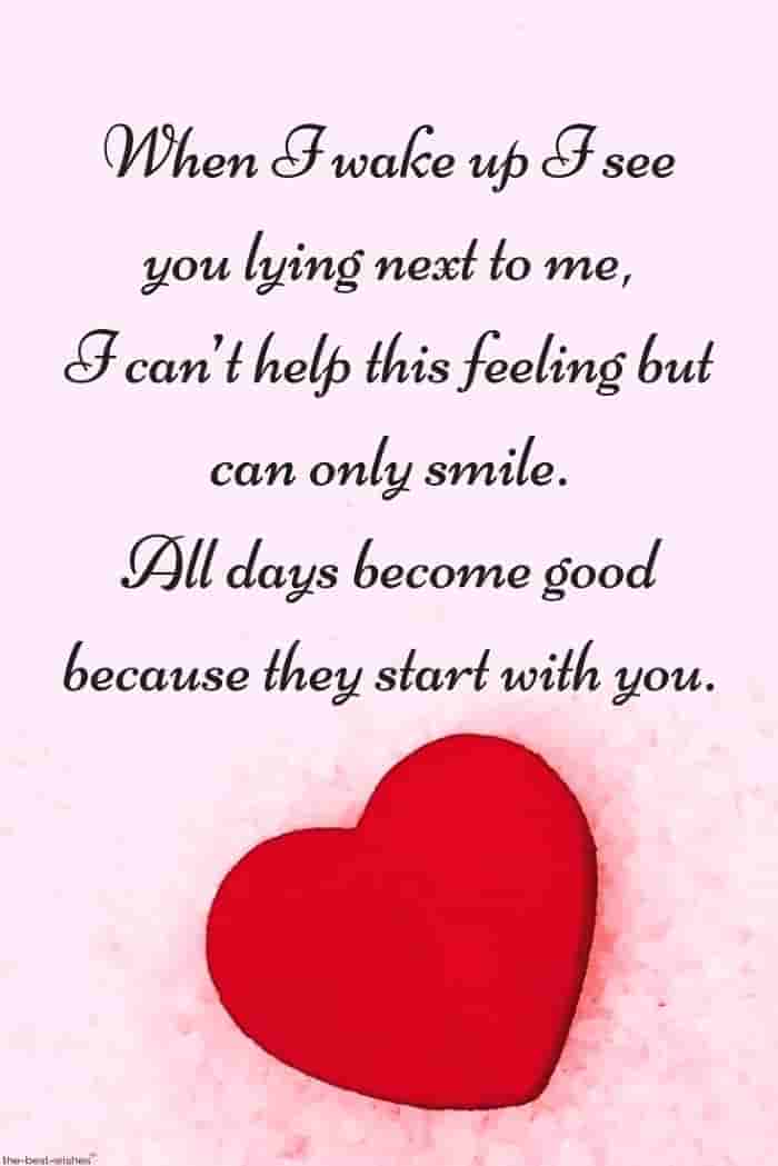good morning luv quote for him image