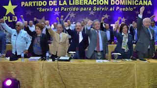 Leonel Fernández y otros 10 precandidatos presidenciales elegidos en el PLD