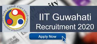 IIT Guwahati Recruitment 2020 For Junior Project Fellow posts   Sarkari Jobs Adda 2020