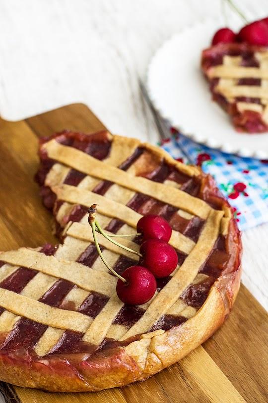 recette Tarte à la cerise vanillée