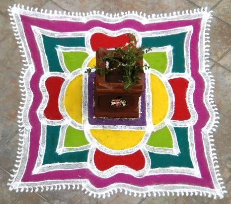 Trendy Rangoli Designs For Holi ! Art Magazine