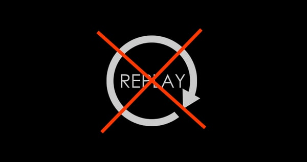 No Replay Logo PES 2018