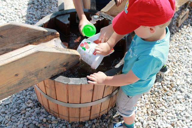 Rittisberg Spielplatz Ramsau Dachstein Familienurlaub Oesterreich Jules kleines Freudenhaus