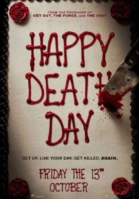 La película Happy Death Day de Christopher Landon mezcla el terror y la comedia acertadamente.