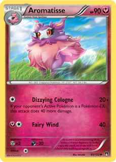 Aromatisse BREAKpoint Pokemon Card