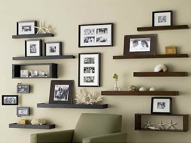Antique Books Decoration Ideas For Shelves In A Living Room