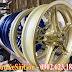 Sơn mâm xe Exciter 150 (Ex150) màu vàng đồng zin