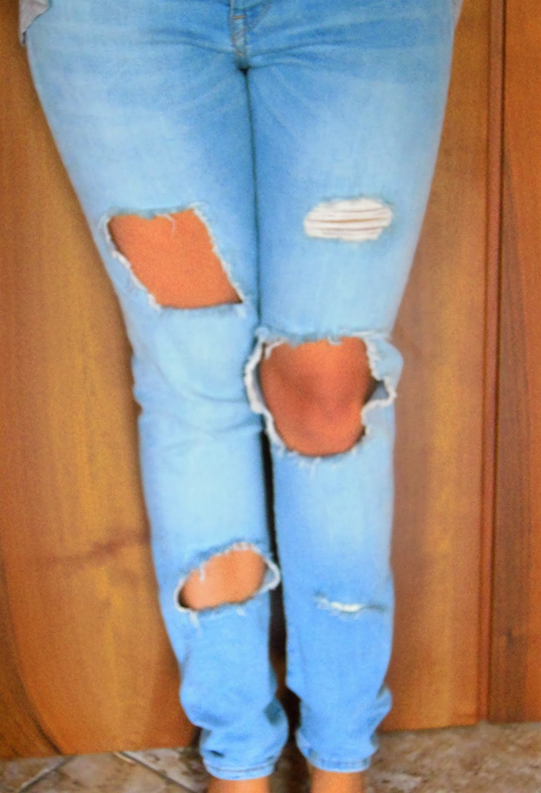 How To Ripped Jeans Madebyme Mb