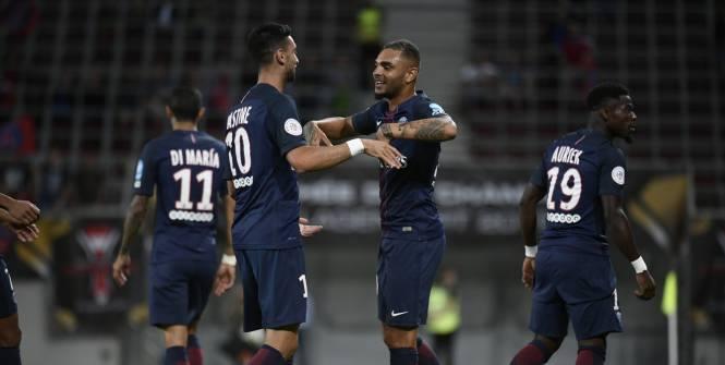 اهداف باريس سان جيرمان وليون