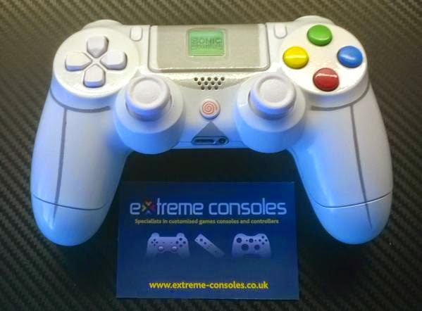 Dreamcast-themed PS4 Controller