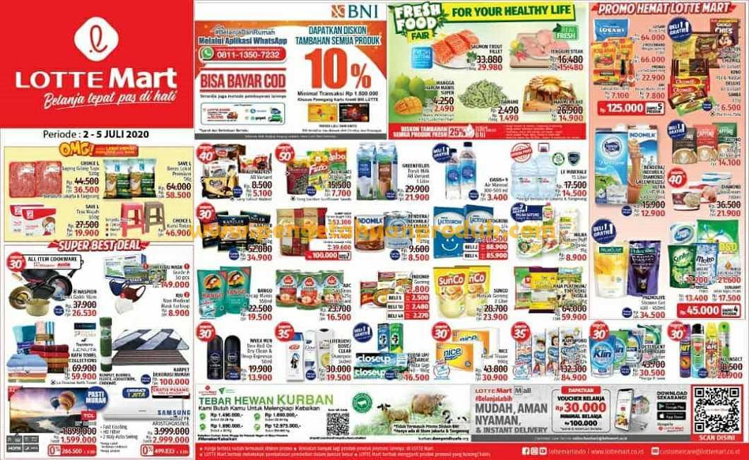 Katalog Promo JSM Lottemart Weekend Periode 2 - 5 Juli 2020