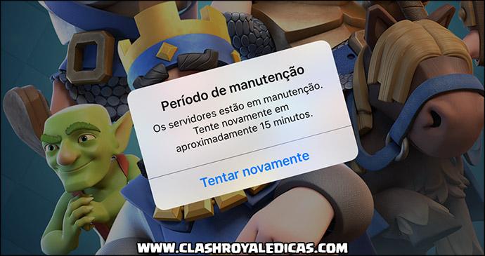 Pausa para Manutenção 01/11 - Atualização chegando! - 1