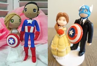 Avengers Endgame wedding cake toppers
