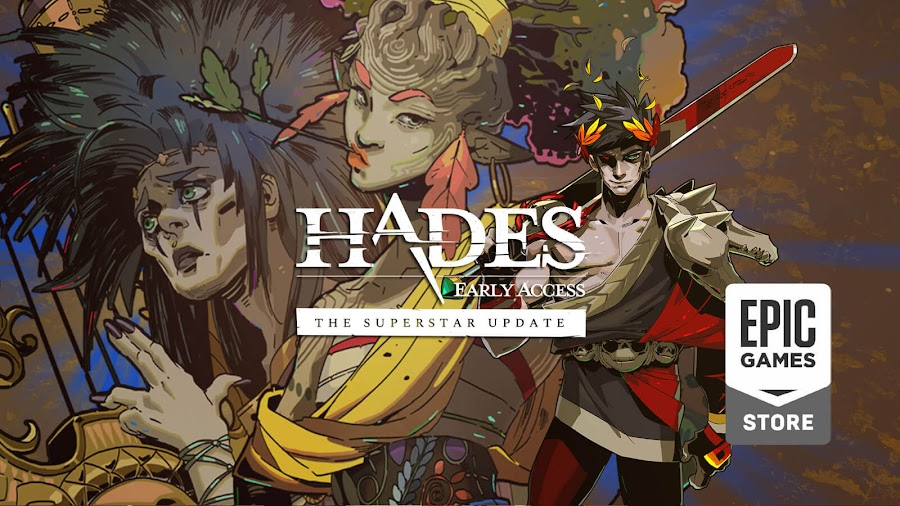 hades superstar update live supergiant games early access epic store pc eurydice orpheus