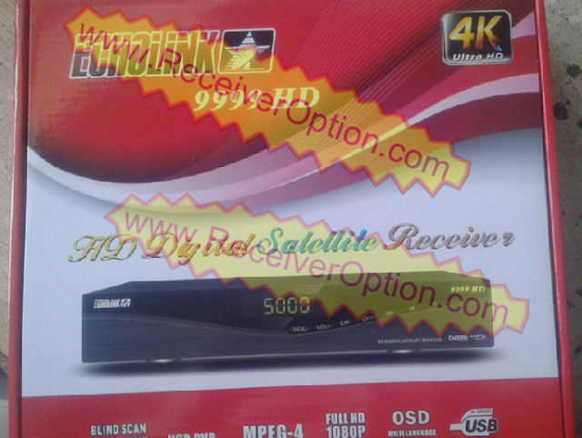 ECHOLINK 9999 AO-GO5S-B5M-V1.1 BOARD TYPE HD RECEIVER NEW SOFTWARE