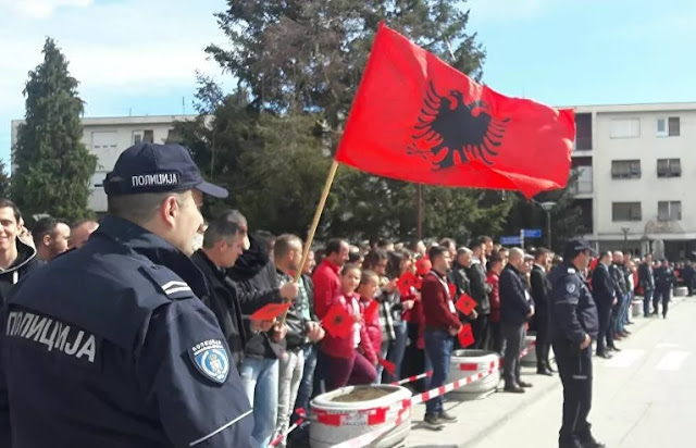 Sputnik says Albania has extended its influence to southern Serbia
