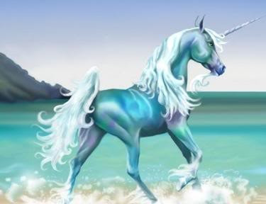 Dibujo de un unicornio