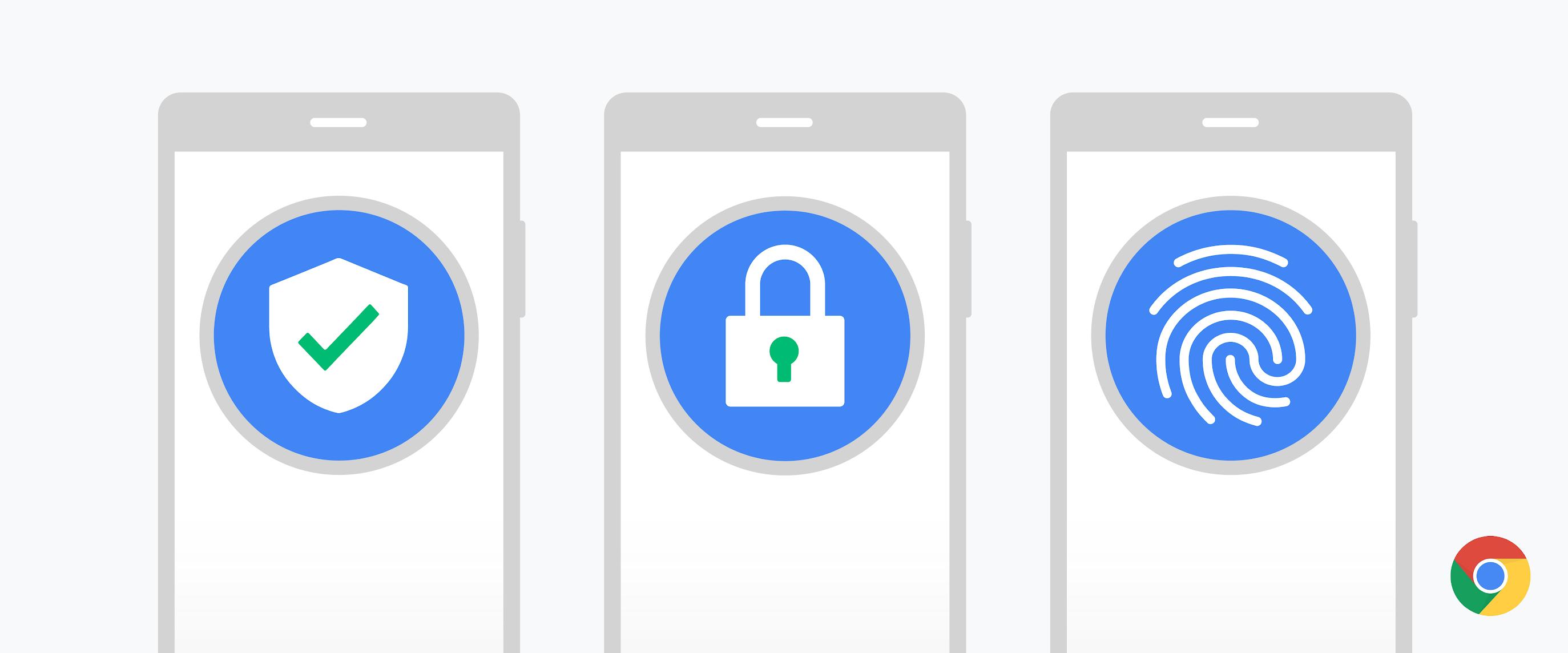 Google améliore la sécurité des mots de passe sur les versions mobiles de Chrome 1
