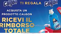 Logo ''Calgon ti regala Calgon'' 2° fase : ricevi il cashback di quanto speso