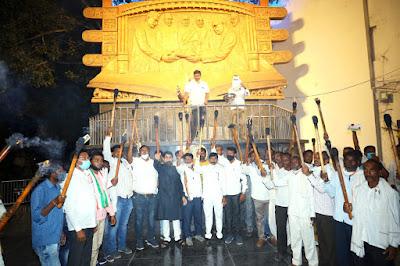 Kisan Congress Mashal Rally Yavatmal