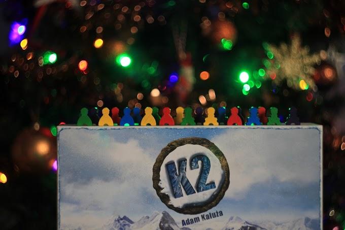 K2 - zdobądź himalajski szczyt! Recenzja gry planszowej