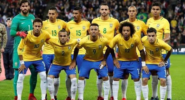 تشكيل البرازيل ضد كوريا الجنوبية عبر سوفت سلاش