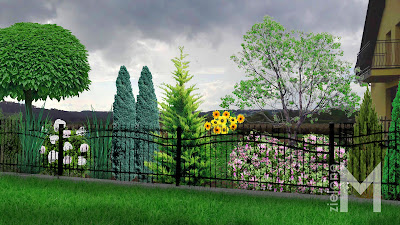 Ogród kolorowy