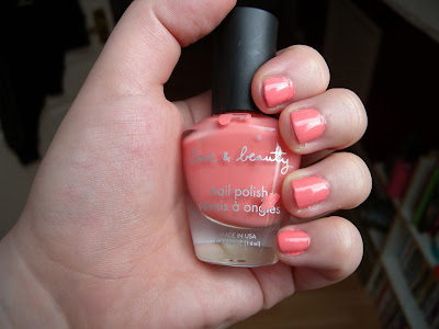 NOTD: Forever 21 in Salmon