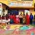 गिद्धौर : सत्य साईं पब्लिक स्कूल के बच्चों ने रंगोली बनाकर जल जीवन हरियाली का दिया संदेश