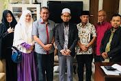 Jajaki Kerjasama Tahfidz Quran, Amran Mahmud Temui Astadz Adi Hidayat di Bekasi