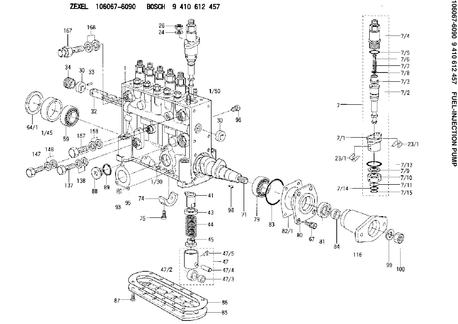 Sparescode Fuel Injection Pump Zexel