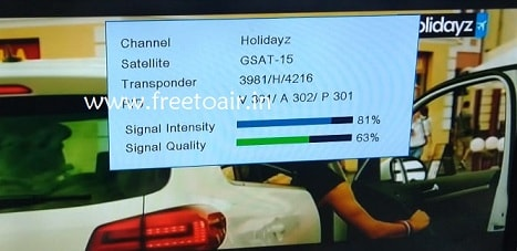 Holidayz Travel Channel started on Insat 4A, Know Frequency