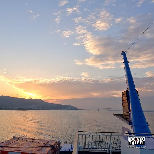 【新岡山港】前往小豆島最快途徑 伴著夕陽在瀨戶內海航行