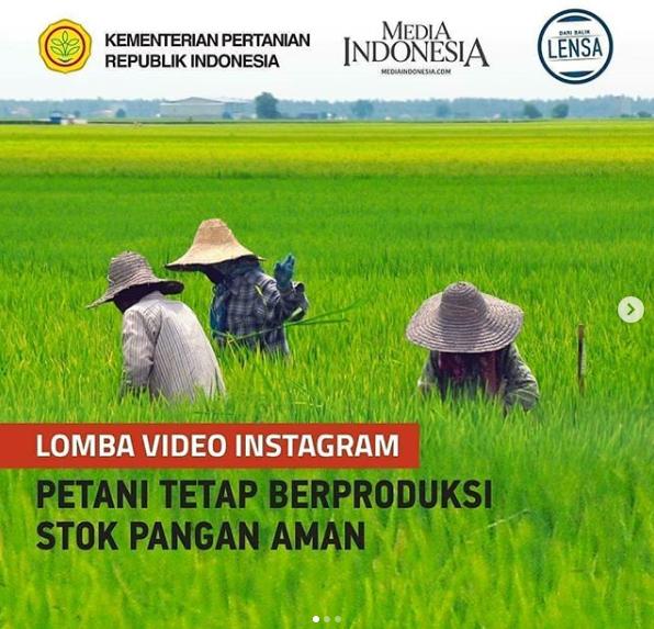 [GRATIS] Lomba Video Instagram Nasional 2020 di Kementrian Pertanian RI