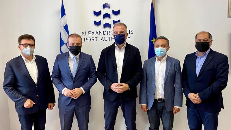 Περιοδεία του Υφυπουργού Μακεδονίας - Θράκης Σταύρου Καλαφάτη στον Έβρο